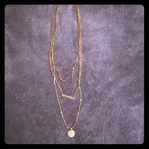New Three Layer Necklace